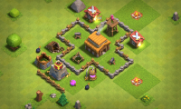 БАЗА CLASH OF CLANS 2017