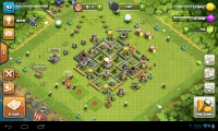 Clasn of Clans ратуша6