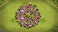 Town Hall 6 Base Дифенс