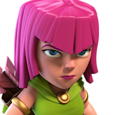 Лучница Clash of Clans