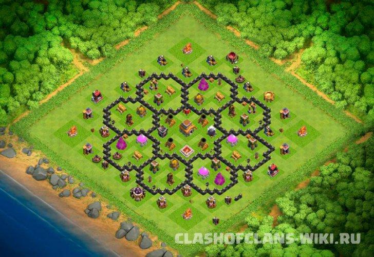 Clash of clans 8тх
