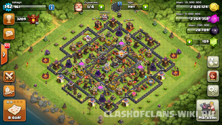 clash of clans злом 11тх #11