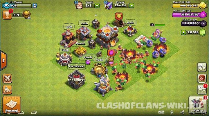 download apk clash of clans fhx 2016