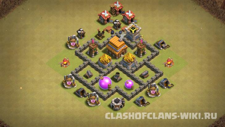 Расстановка ТХ 7 Clash of Clans - Выбирай базы для 7ТХ ...