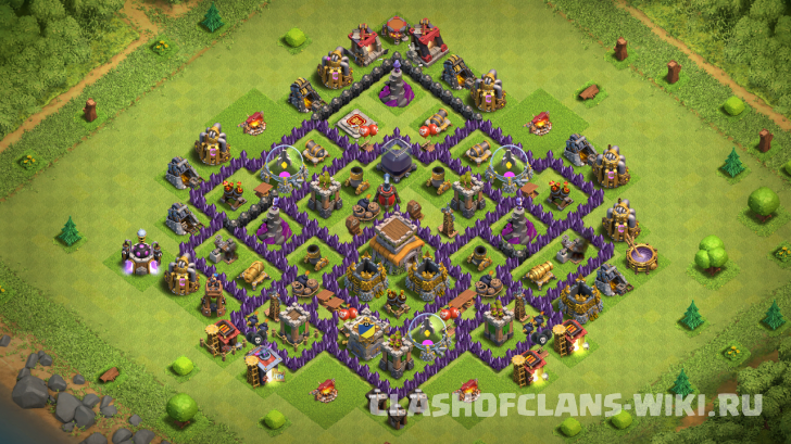 Th8 Hybrid Base Layout