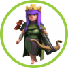 Королева Лучниц Clash of Clans